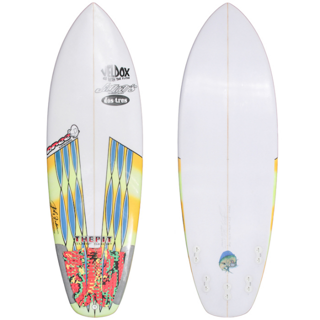 "【中古優良品】 FREE PIG SURFBOARDS 5'5"" x 19-3/4"" x 2-3/8""  【商品グレード】★★★☆☆"