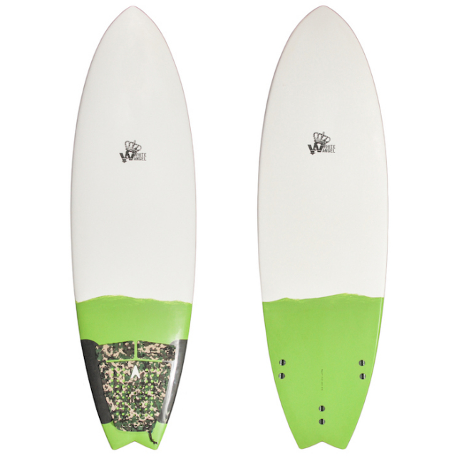 "【中古優良品】 WHITE ANGEL NINJA 5'9"" x 19-1/2"" x 2-3/16""  【商品グレード】★★★☆☆"