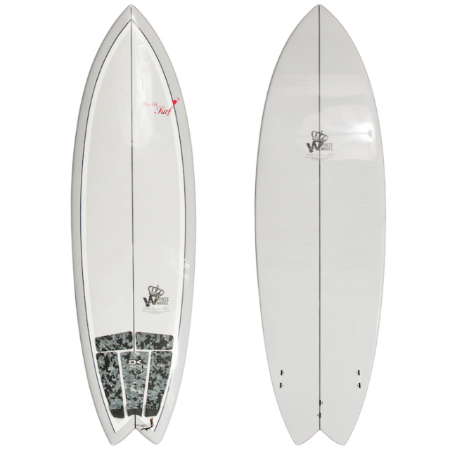 "【中古優良品】 WHITE ANGEL BEACH WALKER 5'10"" x 20-1/2"" x 2-1/2""  【商品グレード】★★★☆☆"