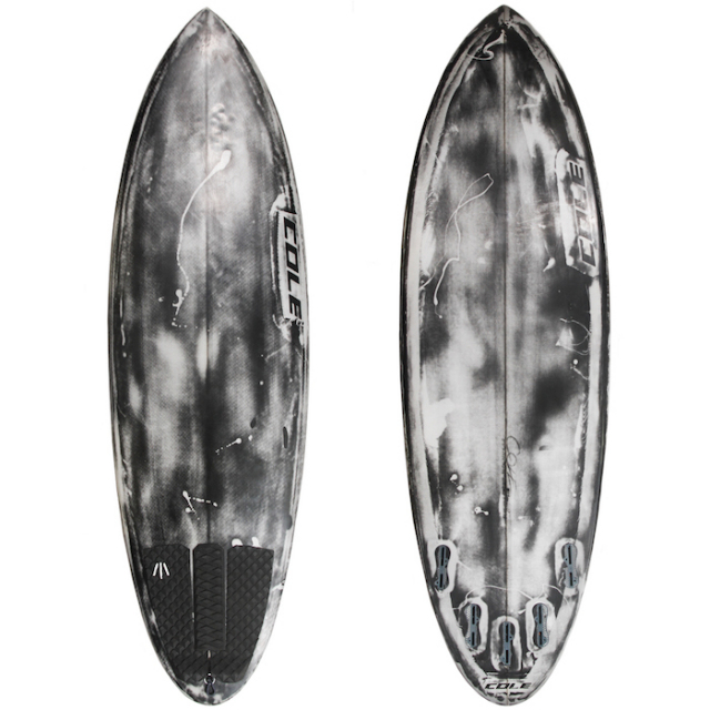 "【中古優良品】 COLE CURVE BALL 5'7"" x 19-3/4 x 2-3/8""  【商品グレード】★★★☆☆"