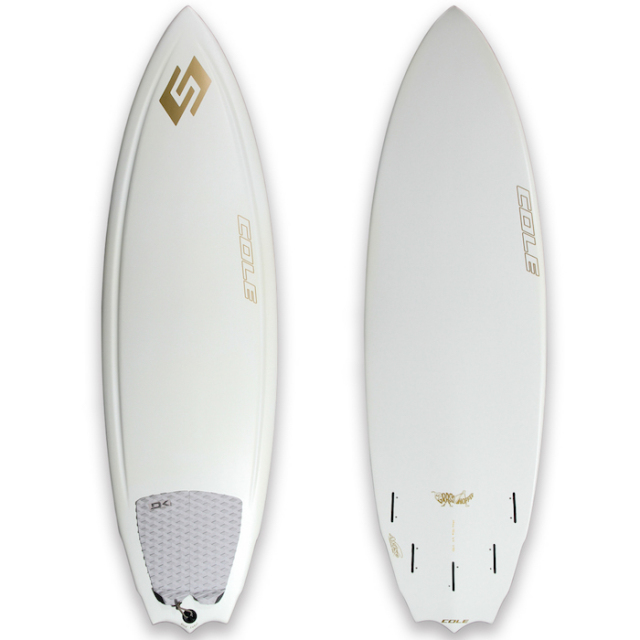 "【中古極上品】 AVISO GRASS HOPPER WHITE PRO GOLD LABEL 5'9"" x 19-7/8"" x 2-7/16""  【商品グレード】★★★★☆"