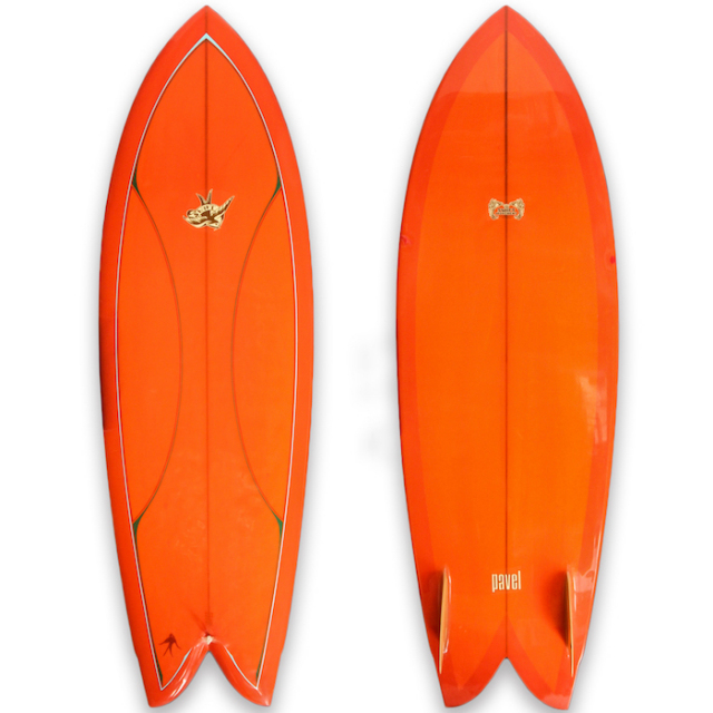 "【中古優良品】 THE SWIFT MOVEMENT × PAVEL / MICRO WING 5'8"" x 21"" x 2-1/4""  【商品グレード】★★★☆☆"