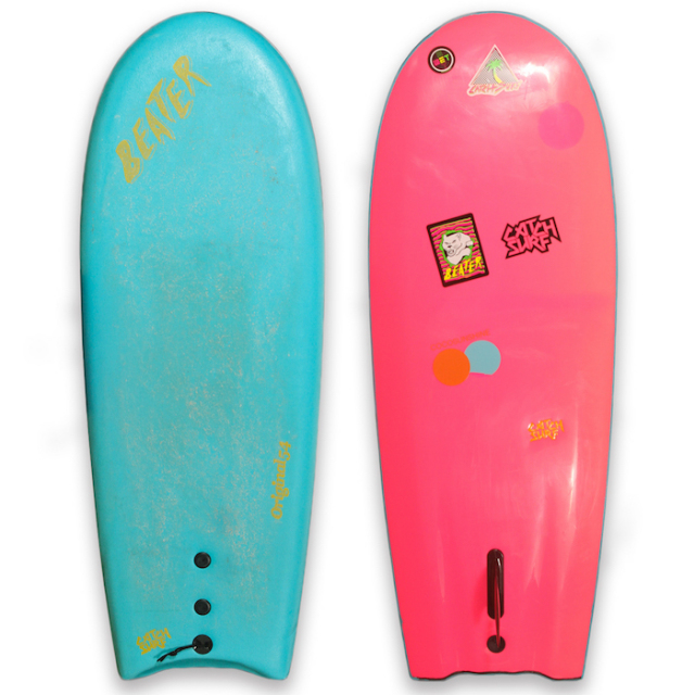 【中古優良品】 CATCHSURF THE BEATER SINGLE FIN  【商品グレード】★★★☆☆