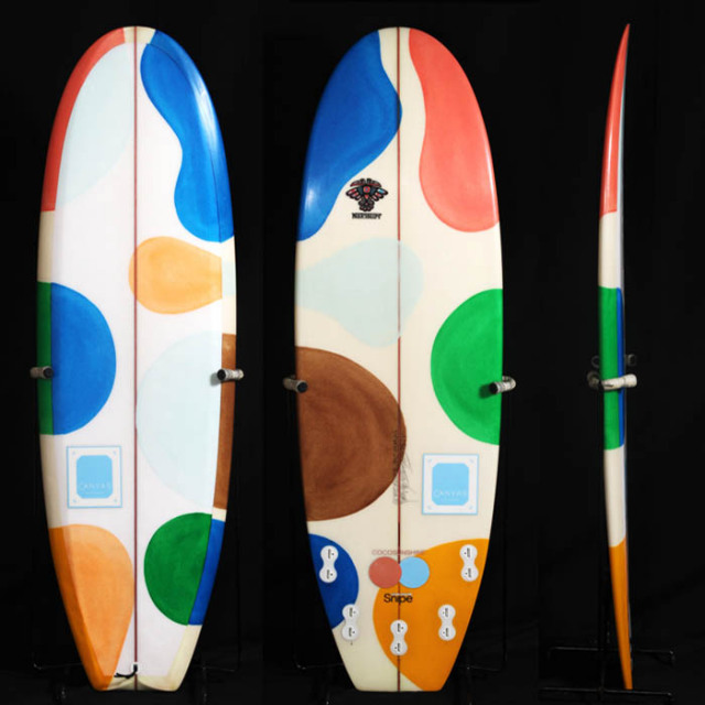 "【中古優良品】THE BUTTER ZONE 5'4"" x 19 3/4"" x 2 3/8"" C-1312 【商品グレード】★★★☆☆"