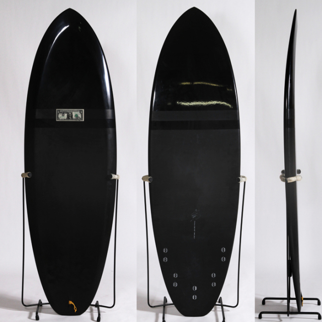 "【中古極上品】MCCALLUM SURFBOARDS   5'8"" x 21"" x 2-5/8"" C-1342 【商品グレード】★★★★☆"