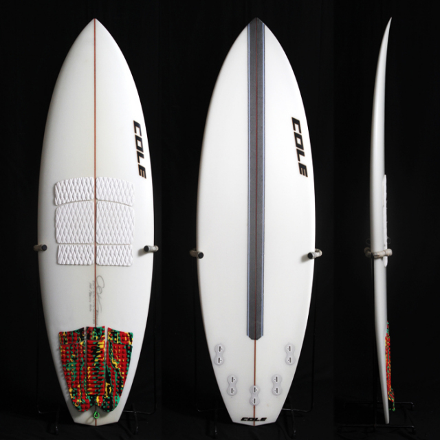 "【中古優良品】CANNON BALL 5'10"" x 20-7/16"" x 2 5/8""  C-1357 【商品グレード】★★★☆☆"