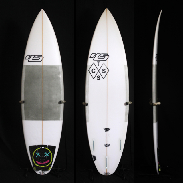 "【中古優良品】Heyden Shapes  THE ANDO 5'10"" x 18-3/4"" x 2-1/4""  C-1377  【商品グレード】★★★☆☆"