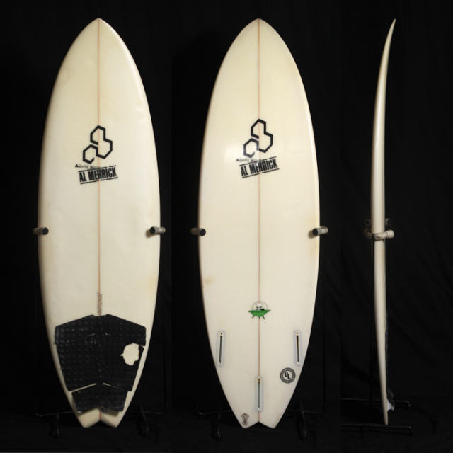 "【中古良品】CHANNEL ISLANDS  THE POD  5'4"" x 19-3/8"" x 2-1/4""  C-1382    【商品グレード】★★☆☆☆"