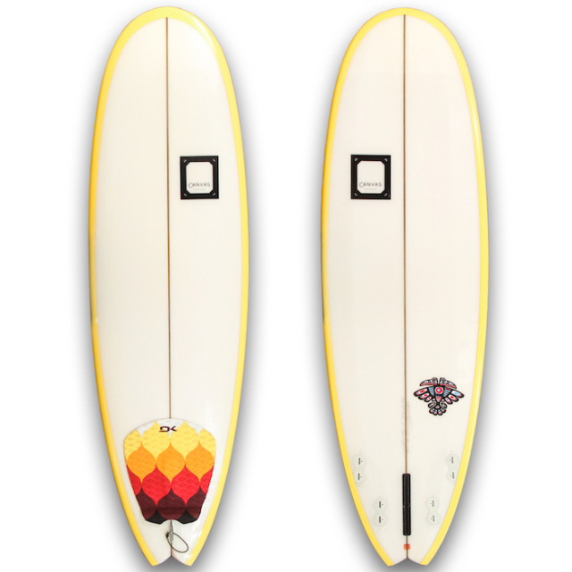 "【中古優良品】 CANVAS MINI NOSERIDER 5'12"" x 21"" x 2-5/8""   【商品グレード】★★★★☆"