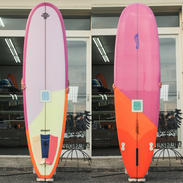 "【中古優良品】 CANVAS MINI NOSERIDER 6'12 x 22 x 2-3/4""  【商品グレード】★★★☆☆"