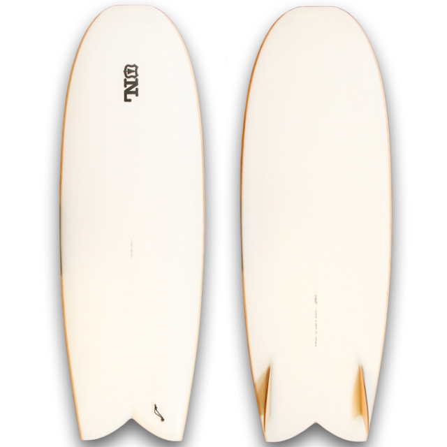 "【中古優良品】 Nine Lights Surfboards Mini Bob 5'6"" x 22-1/4 x 2-5/8""  【商品グレード】★★★☆☆"