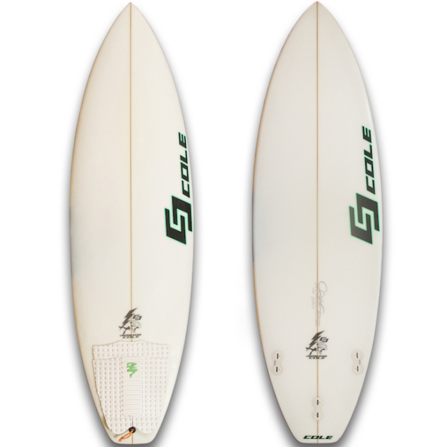 "【中古優良品】 COLE LIGHTNING KICKER 5'7"" x 19-1/4"" x 2-5/16""  【商品グレード】★★★☆☆"