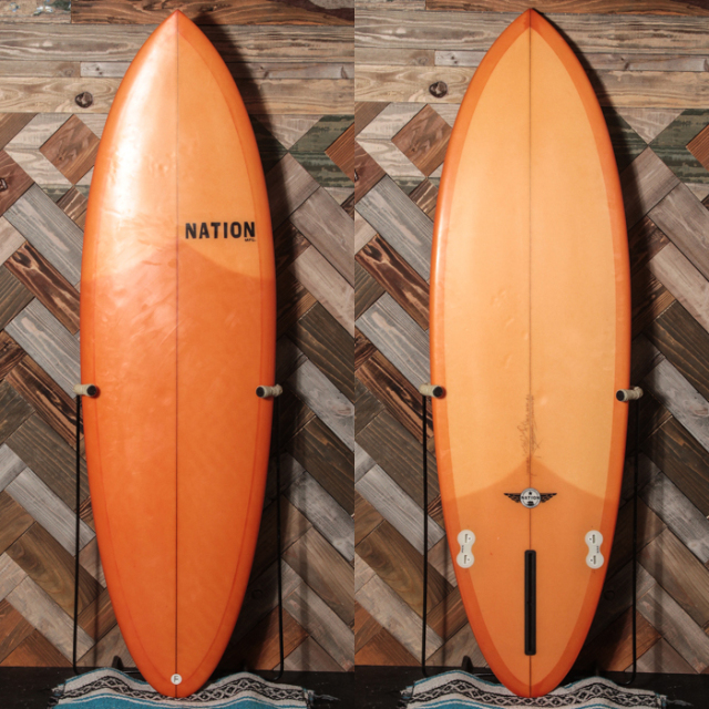 "【中古優良品】 NATION Pink Champagne On Ice 5'7"" x 19-1/4"" x 2-3/8""  【商品グレード】★★★☆☆ No.c1498"