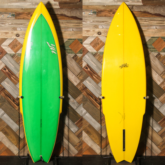"【中古優良品】YU SURF DESIGN / STINGER 6'2"" x 20-1/16"" x 2-7/16""  【商品グレード】★★★☆☆ No.c1521"