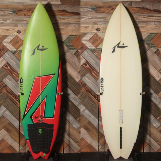 "【中古極上品】 RUSTY / BALI SINGLE 6'0 x 19-3/4"" x 2-7/16"" 【商品グレード】★★★★☆ No.c1555"