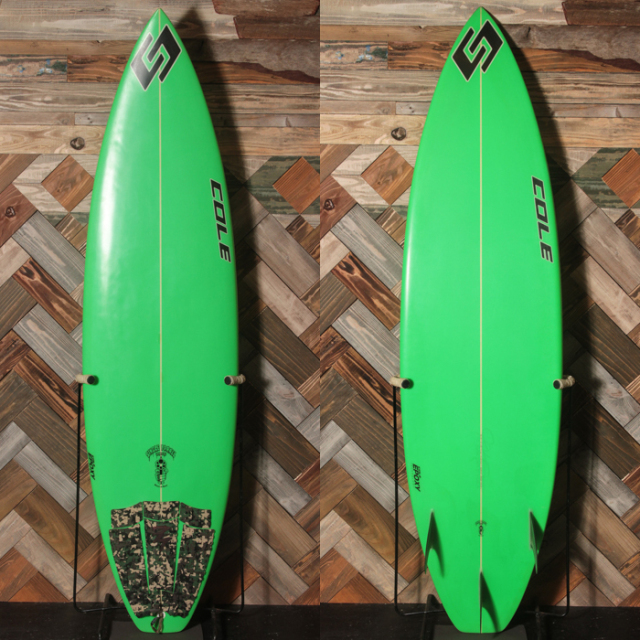 "【中古優良品】COLE / SINGLE BARREL 6'3"" x 18-15/16"" x 2-1/2""【商品グレード】★★★☆☆ No.c1556"