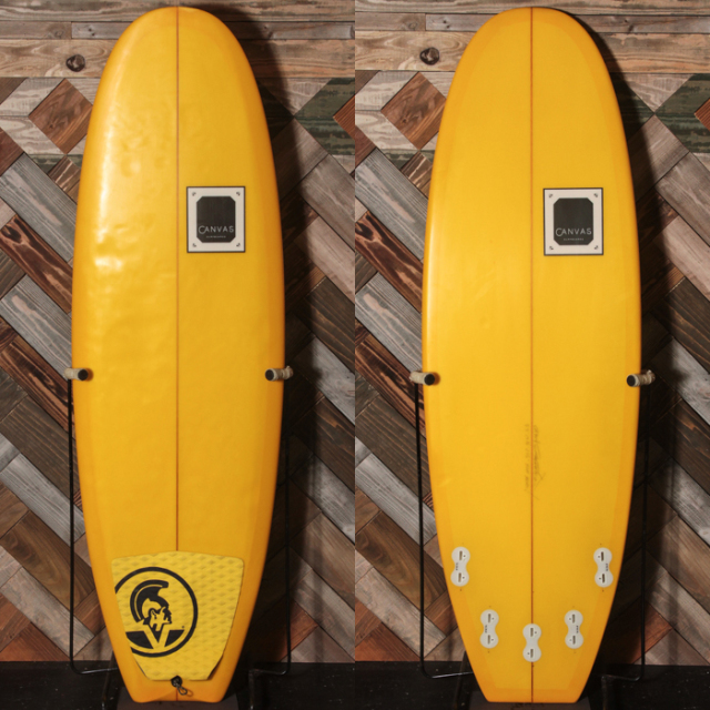 "【中古優良品】 CANVAS THE BUTTER ZONE 5'4"" x 19-3/4"" x 2-5/16""  【商品グレード】★★★☆☆ No.c1559"