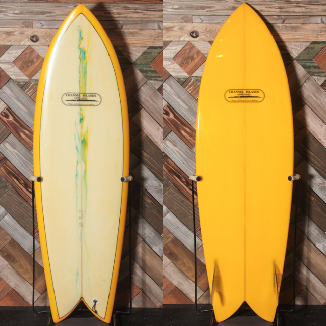 "【中古優良品】CHANNEL ISLANDS / CI FISH 5'6"" x 20"" x 2-1/4""【商品グレード】★★★☆☆ No.c1562"