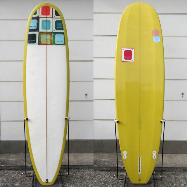 "【中古優良品】 CANVAS MINI NOSERIDER 6'12 x 22 x 2-3/4""  【商品グレード】★★★☆☆ No.c1568"