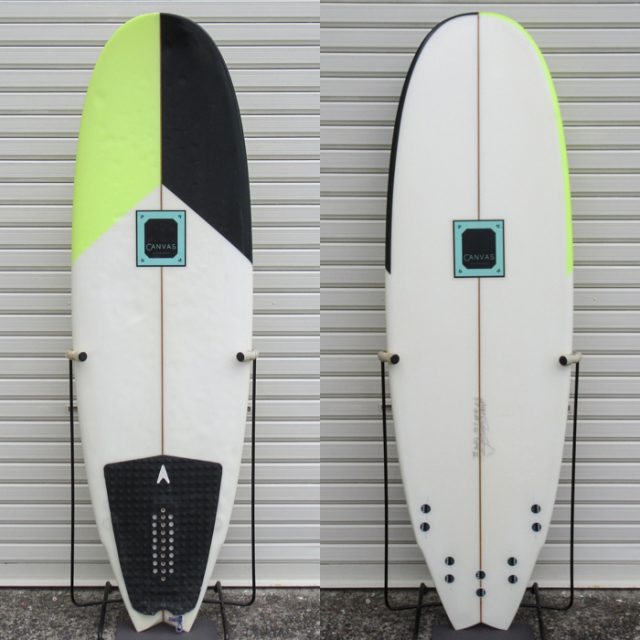 "【中古品】CANVAS SURFBOARDS / MNR TYPEII 5'7"" x 19-7/8"" x 2-5/16""【商品グレード】★★☆☆☆ No.c1571"