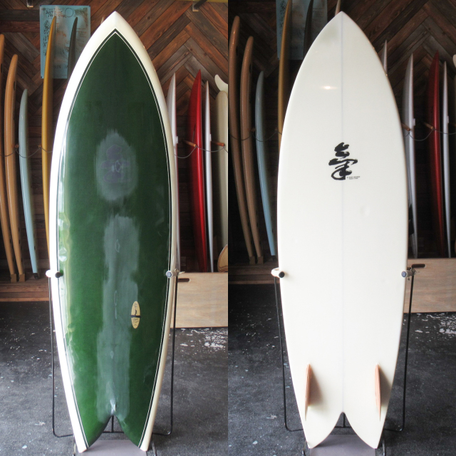 "【中古優良品】 KI SURFBOARDS / FISH 6'2"" x 21-9/16"" x 2-7/8"" 【商品グレード】★★★☆☆ No.c1612"