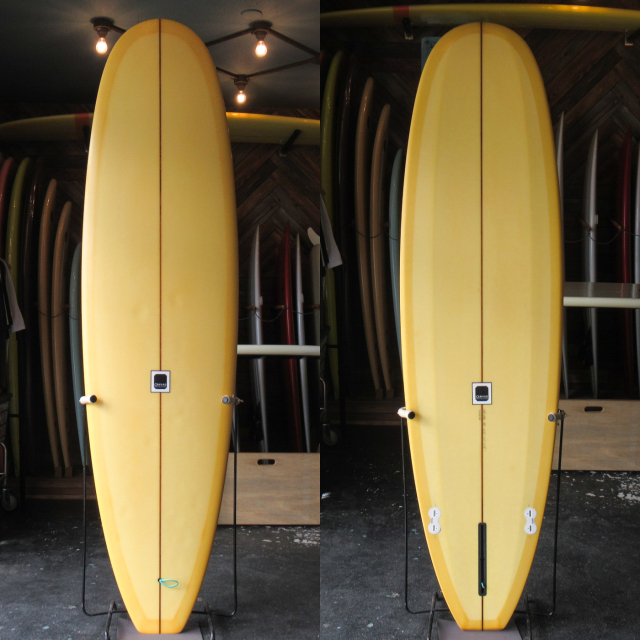 "【中古優良品】 CANVAS SURFBOARDS / MINI NOSERIDER612 7'0 x 22"" x 2-1/2""   【商品グレード】★★★☆☆ No.c1617"