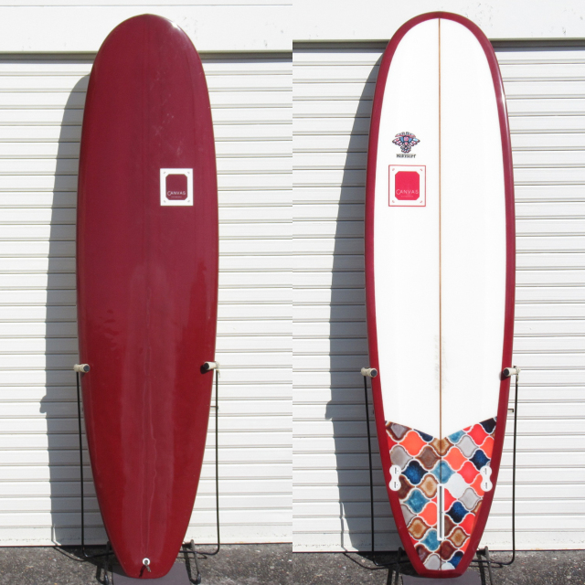"【中古優良品】 CANVAS SURFBOARDS / MINI NOSERIDER612 7'0 x 22"" x 2-3/4""   【商品グレード】★★★☆☆ No.c1627"