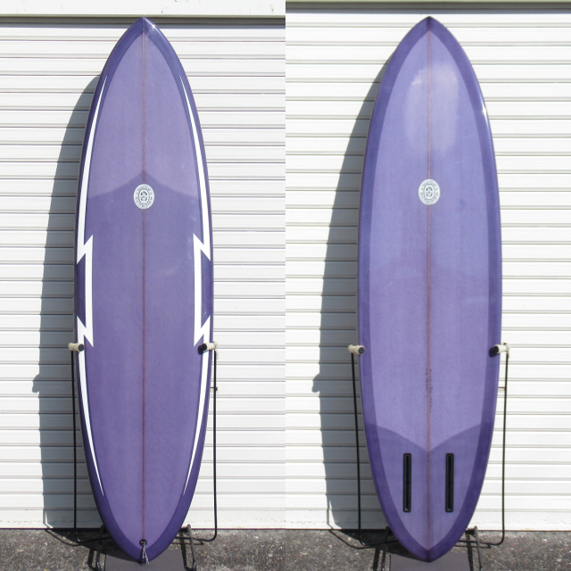 "【中古優良品】 Neal Purchase Jnr / DUO 6'6"" x 20-1/2"" x 2-5/8"" 【商品グレード】★★★☆☆ No.c1632"