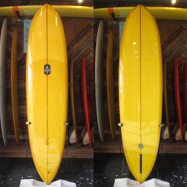 "【中古優良品】 JOSH HALL / POINTED NOSE PINTAIL EGG 7'6"" x 21-5/8"" x 2-7/8"" 【商品グレード】★★★☆☆ No.c1652"