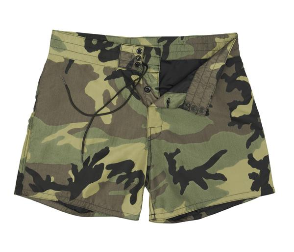 "BIRDWELL #310(14.5~18"" length) BEACH BRITCHES SHORTS 「CAMO」30inc"