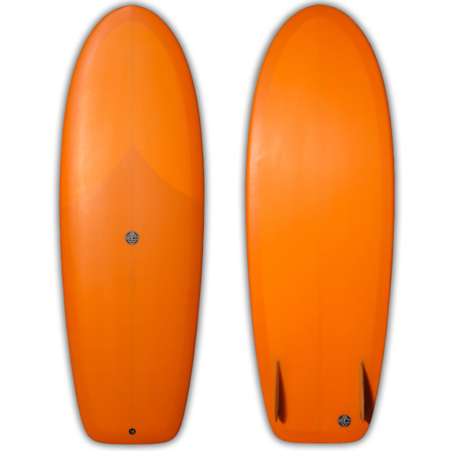 "【新品ストック】EC SURFBOARDS ecImmons 5'4"" x 21-1/8"" x 2-1/2"" No.20180909_ec_01"