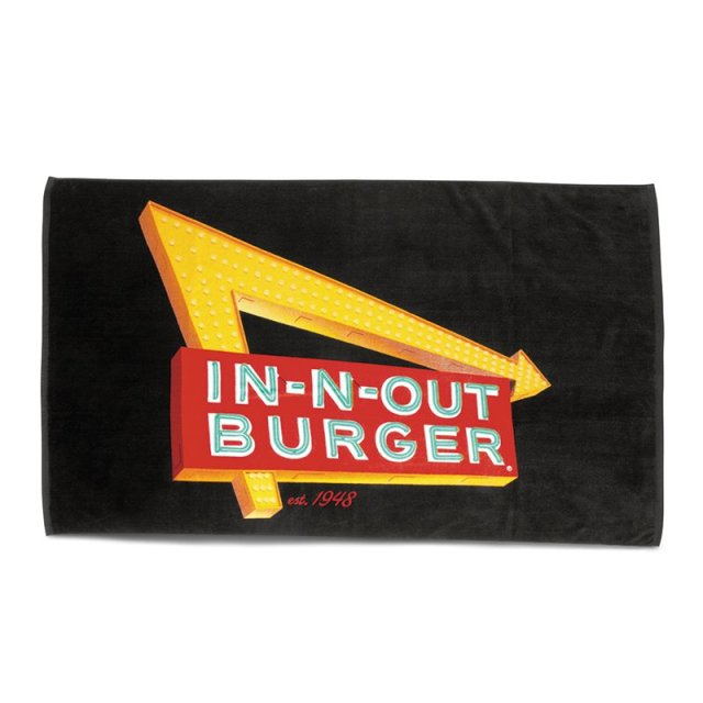 In-N-Out(インアンドアウト)【NEON BEACH TOWEL】