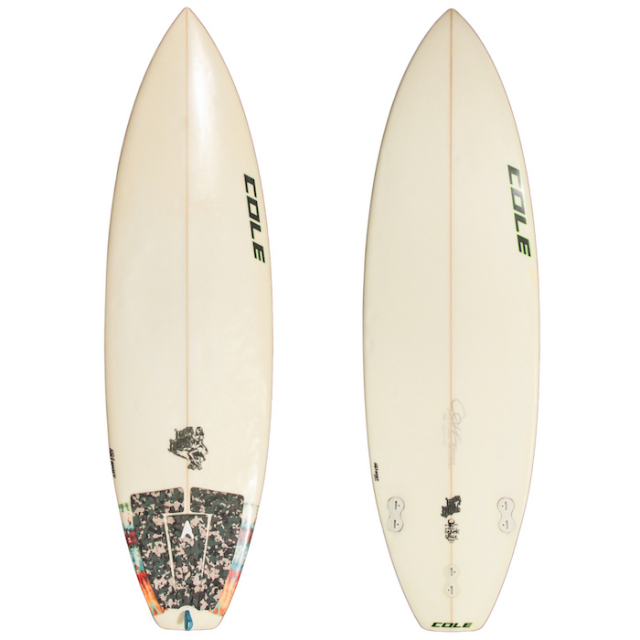 "【中古良品】 COLE LOOSE CANNON BLACK LABEL 5'9"" x 19"" x 2-5/16""  【商品グレード】★★☆☆☆ ※現状販売"
