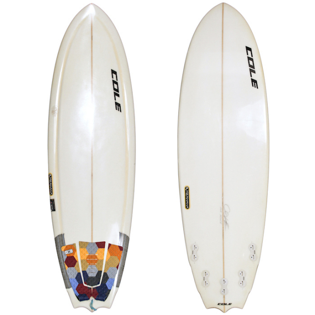 "【中古優良品】 COLE PRAYING MANTIS KEAHANA 5'8"" x 19-5/8"" x 2-5/16""  【商品グレード】★★★☆☆ ※現状販売"