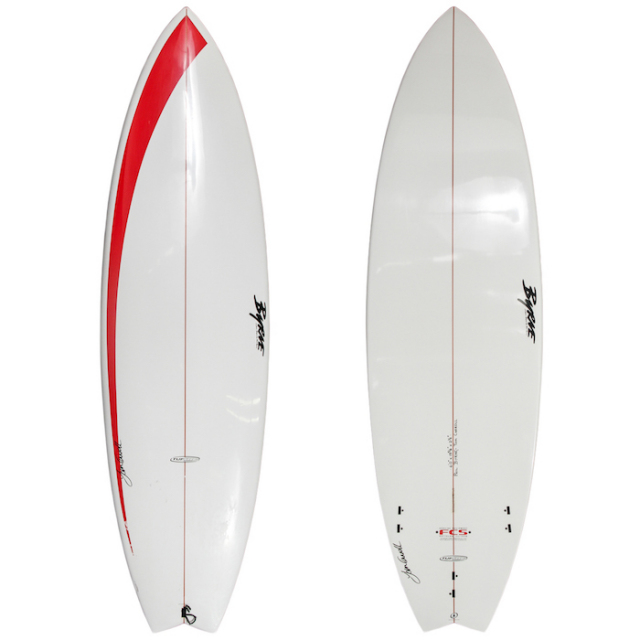 "【中古優良品】 PHIL BYRNE TOM CARROLL 6'0"" x 19-5/8"" x 2-1/2""  【商品グレード】★★★☆☆"