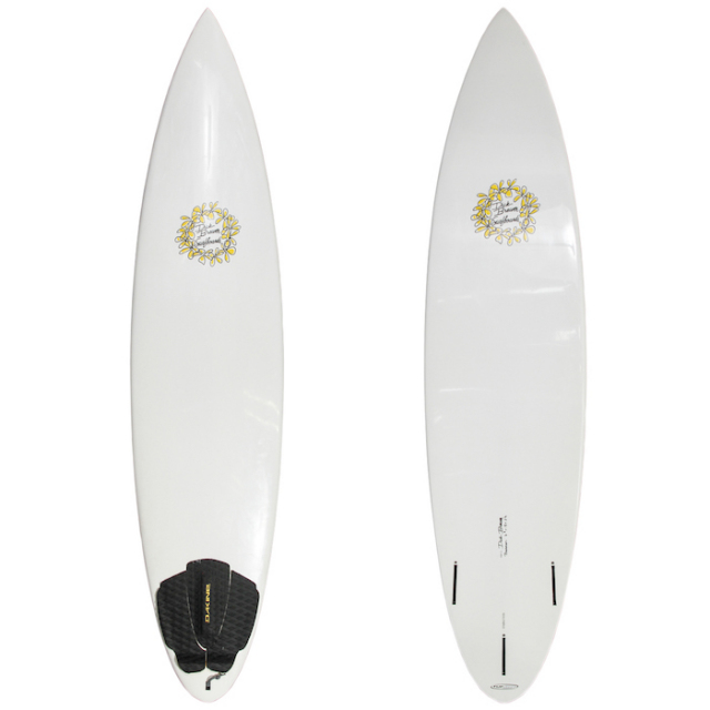 "【中古優良品】 DICK BREWER BACKDOOR 6'8"" x 18"" x 2-1/4""  【商品グレード】★★★☆☆"