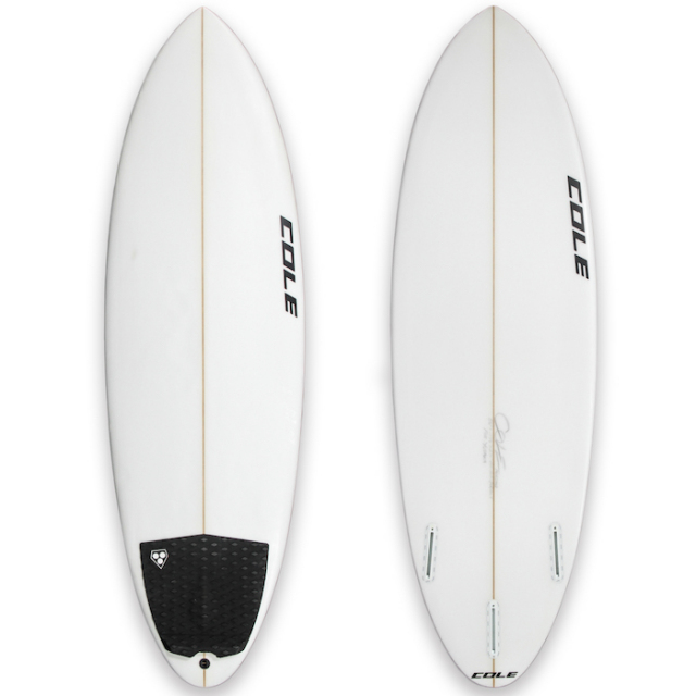 "【中古優良品】 COLE CURVE BALL 5'6"" x 19-3/4 x 2-1/4""  【商品グレード】★★★☆☆"