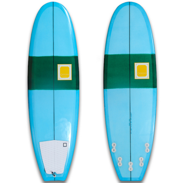 "【中古優良品】 CANVAS THE BUTTER ZONE 5'8"" x 19-3/4 x 2-3/8""  【商品グレード】★★★☆☆"