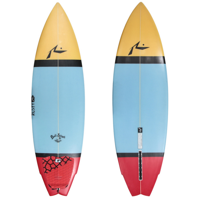 "【中古極上品】 RUSTY BALI SINGLE 5'9"" x 19-1/4"" x 2-1/4""   【商品グレード】★★★★☆"