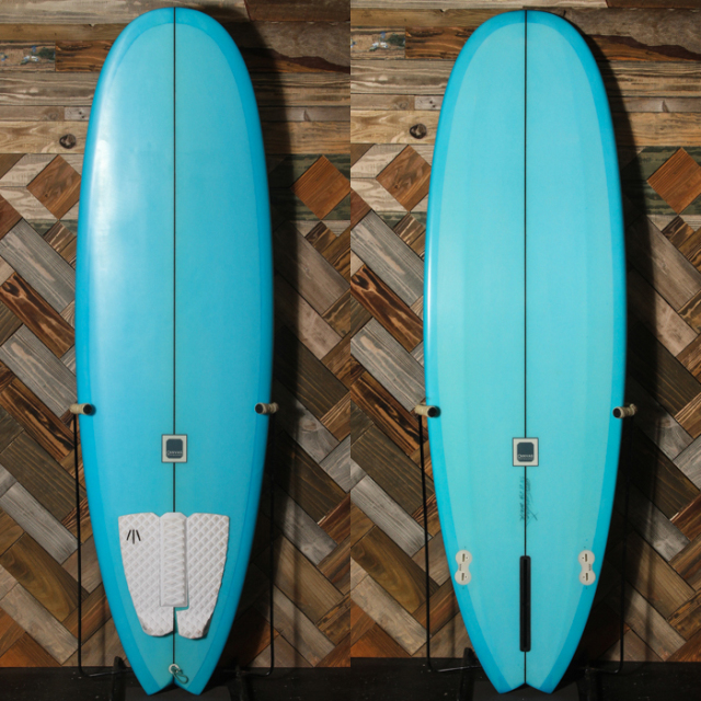 "【中古優良品】 CANVAS / MINI NOSERIDER 5'12"" x 21"" x 2-5/8"" 【商品グレード】★★★☆☆ No.k106"