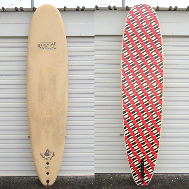 "【中古優良品】 CATCH SURF / PLANK 8ft BARRY MCGEEモデル 8'0"" x 23"" x 3-3/8""  【商品グレード】★★★☆☆ No.k179"