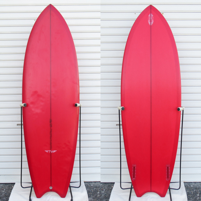 "【中古優良品】 TYLER WARREN / DREAM FISH(MOON TAIL仕様) 5'5"" x 19-3/4"" x 2-3/8"" 【商品グレード】★★★☆☆ No.k183"