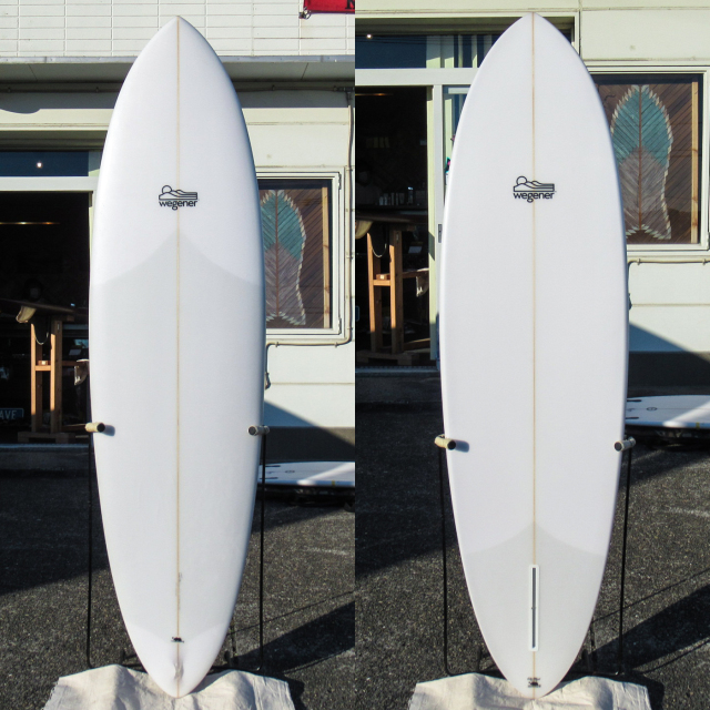 "【中古極上品】 WEGENER SURFBOARDS / The Wegg Single Fin 6'6"" x 21-1/8"" x 2-7/8"" 【商品グレード】★★★★☆ No.k216"