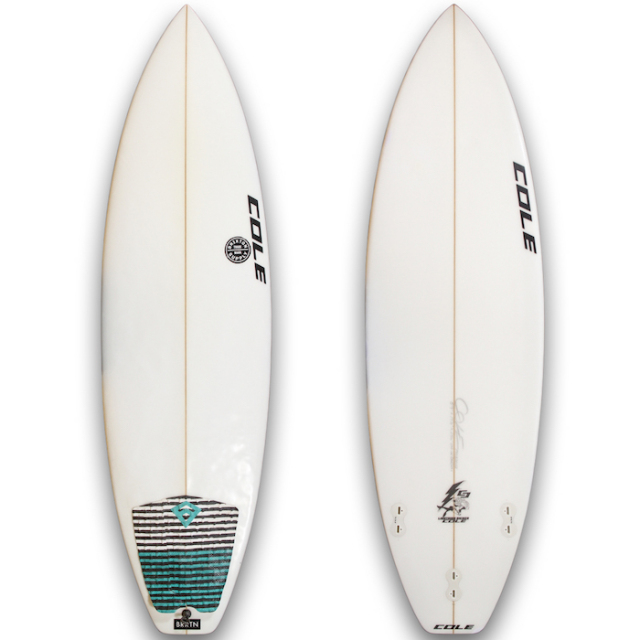 "【中古良品】 COLE LIGHTNING KICKER 5'9"" x 19-1/8"" x 2-5/16""  【商品グレード】★★☆☆☆"