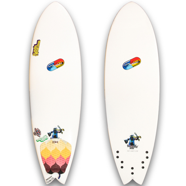 "【中古優良品】 PLACEBO UBER FISH 5'10"" x 20 x 2-3/8""  【商品グレード】★★☆☆☆"