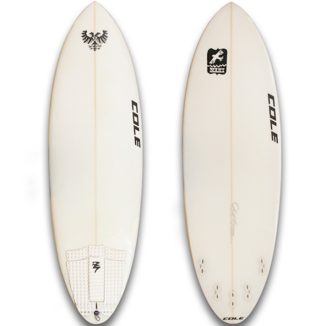 "【中古優良品】 COLE CURVE BALL 5'7"" x 19-7/8 x 2-3/8""  【商品グレード】★★★☆☆"