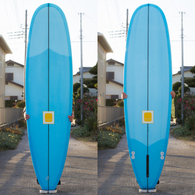 "【中古優良品】 CANVAS MINI NOSERIDER 7'4 x 23 x 2-13/16""  【商品グレード】★★★☆☆"