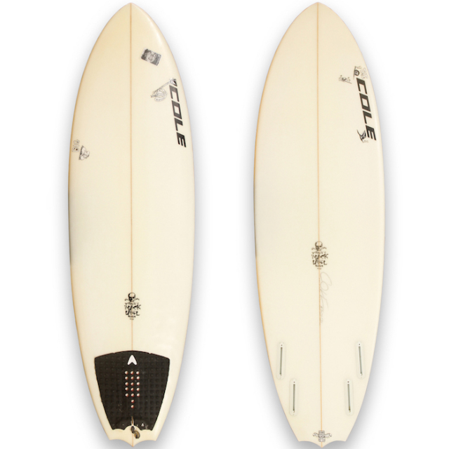 "【中古優良品】COLE BAT FISH 5'8"" x 19-5/8"" x 2-5/16""  【商品グレード】★★★☆☆"