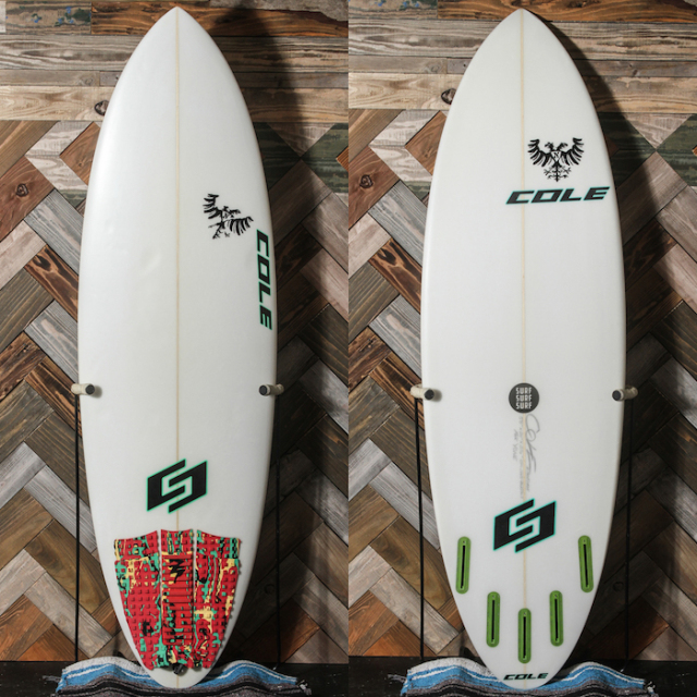 "【中古優良品】 COLE CURVE BALL 5'8"" x 20"" x 2-1/2""  【商品グレード】★★★☆☆"