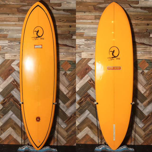 "【中古優良品】 Dewey Weber Feather Fastback 7'10"" x 23-1/4"" x 2-3/4""  【商品グレード】★★★☆☆ No.k76"
